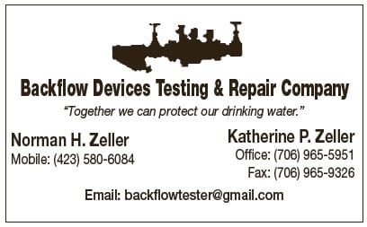 Backflow Devices Testing and Repair Company